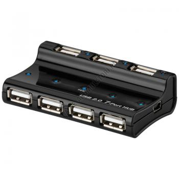 HUB 7 Porturi USB 2.0 Hi Speed Goobay cod 956801