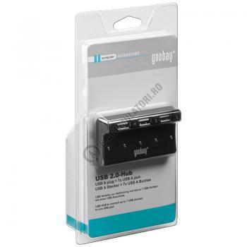 HUB 7 Porturi USB 2.0 Hi Speed Goobay cod 956800