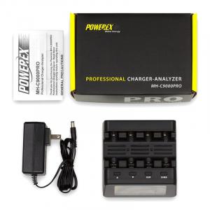 Incarcator inteligent R6 R3 Maha Powerex C9000Pro2