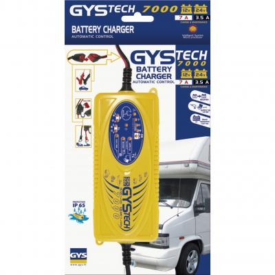 Incarcator si redresor inteligent auto moto 12/24V GysTech 7000 cod 0249531