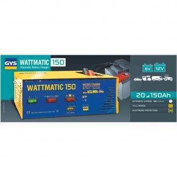 Incarcator si redresor PROFESIONAL automat 6/12V GYS Wattmatic 1501