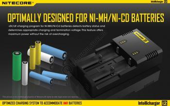 Incarcator Universal Inteligent NITECORE i2 ALL-IN-ONE, Li-Ion, Ni-Mh, Ni-Cd9
