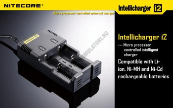 Incarcator Universal Inteligent NITECORE i4 ALL-IN-ONE, Li-Ion, Ni-Mh, Ni-Cd1