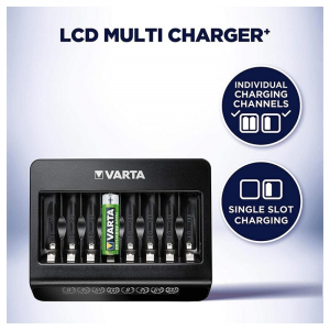 Incarcator Varta LCD Multi Charger+ 57681 AAA, AA 8 canale2