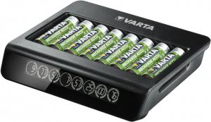 Incarcator Varta LCD Multi Charger+ 57681 AAA, AA 8 canale1