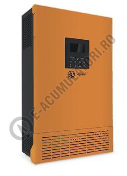 Invertor / Incarcator Xunzel Sinewave IXS-1000VA-800W-12V cu controller incarcare solara si cabluri IXS1000-121