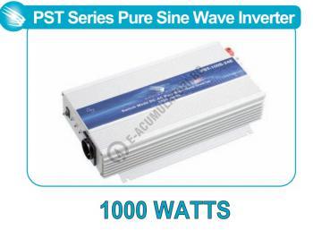 Invertor profesional SAMLEX PST-100S-24E 1000W Pur Sinus DC/AC1