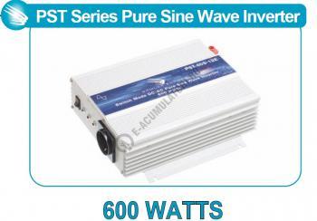 Invertor profesional SAMLEX PST-60S-12E 600W Pur Sinus DC/AC1