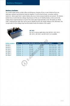 Izolator baterie SAMLEX DB-702C1