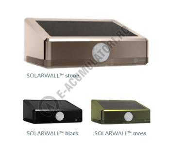 Kit automat solar Xunzel cu LED-uri si senzor de miscare PIR Negru0