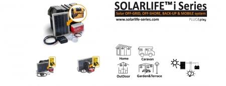 Kit solar Xunzel Off-Grid complet pentru iluminat SOLARLIFE30i3