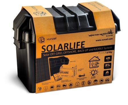 Kit solar Xunzel Off-Grid complet pentru iluminat SOLARLIFE5i1