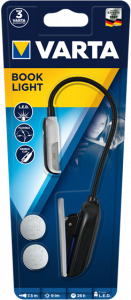 Lampa de citit Varta LED Book Light 2CR2032 166180