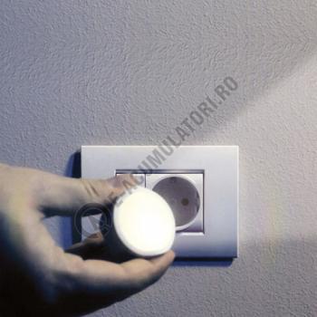 Lampa de veghe Legrand alb 0506783
