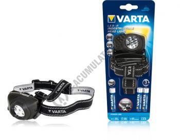 Lanterna Varta Indestructible de cap H10 5 LED-uri 3AAA 177301