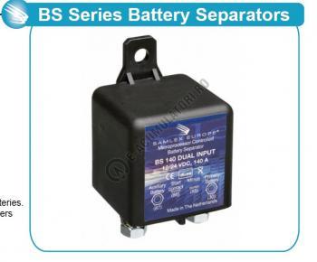 Separator automat de incarcare baterii 12/24V SAMLEX cod BS 140 DUAL0
