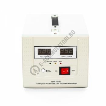 Stabilizator cu transformator 1500VA/900W Power Sistem TDR15002