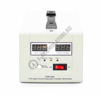 Stabilizator cu transformator 500VA/300W Power Sistem TDR5001