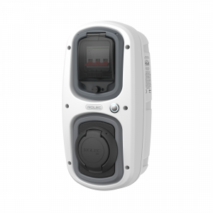 Statie incarcare auto Rolec WallPod SuperFast, 32A, 22kW, trifazata, Socket Tip 20