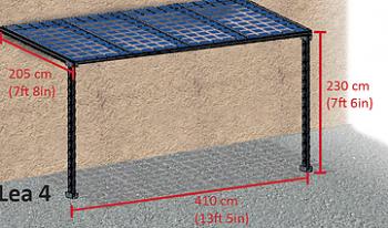 Terasa fotovoltaica LEA 2 640Wp1