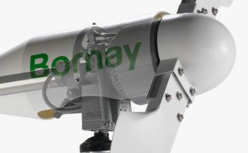 Turbina eoliana Bornay 3000 W 24V 2 lame si controller digital B3000/243