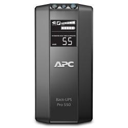 UPS APC Power-Saving Back-UPS Pro 550VA/330W, LCD Display BR550GI1
