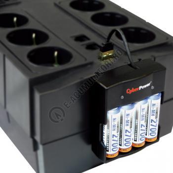 UPS Cyber Power BR850ELCD 850VA 510W AVR, LCD Display, 6 x Schuko outputs, USB3