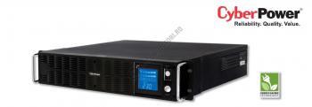 UPS Rackabil Cyber Power PR1000ELCDRT2U Line-Interactive 1000VA 700W AVR, LCD Display, 8 IEC OUTLETS, USB & Serial port0