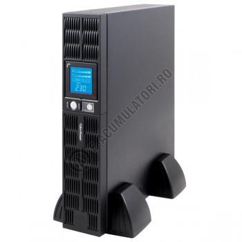 UPS Rackabil Cyber Power PR1000ELCDRT2U Line-Interactive 1000VA 700W AVR, LCD Display, 8 IEC OUTLETS, USB & Serial port2