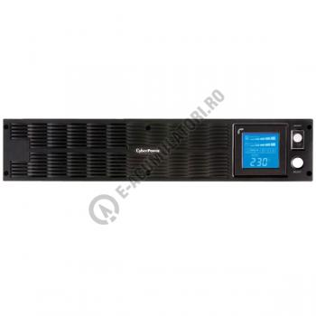 UPS Rackabil Cyber Power PR1500ELCDRTXL2U Line-Interactive 1500VA 1250W AVR, LCD Display, 10 IEC OUTLETS, USB & Serial port2