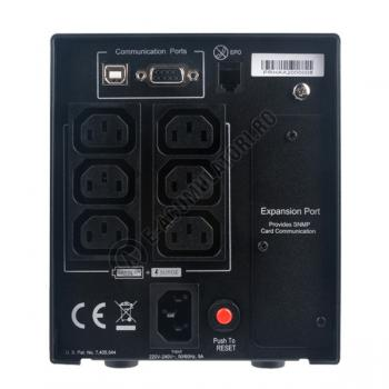 UPS Cyber Power PR750ELCD Line-Interactive 750VA 675W AVR, LCD Display, 8 IEC OUTLETS, USB & Serial port3