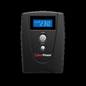 UPS Cyber Power VALUE600ELCD 600VA 360W AVR, LCD Display, 2 x Schuko outputs, USB & Serial port0