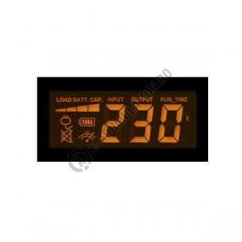UPS resigilat Cyber Power VALUE800ELCD 800VA 480W AVR, LCD Display, 2 x Schuko outputs, USB & Serial port4