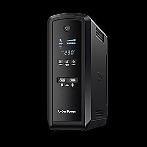 UPS CyberPower CP1300EPFCLCD Line-Interactive 1300VA 780W AVR, ecran LCD, 6 prize Schuko, porturi USB & Serial2