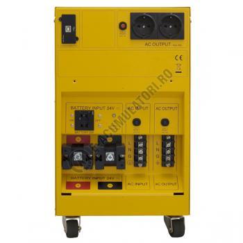 UPS unda pura sinusoidala pentru centrale termice si iluminat de urgenta Cyber Power CPS3500PRO 3500VA 2450W3