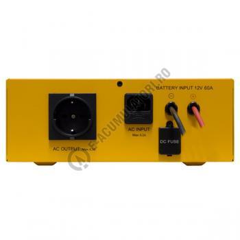 UPS pentru centrale termice Cyber Power CPS600E 600VA 420W cu acumulator VRLA 100 Ah2