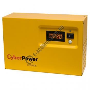 UPS pentru centrale termice Cyber Power CPS600E 600VA 420W cu baterie Genesis NP75-122