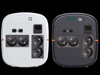UPS Tuncmatik Digitech Pro 1200VA Line-interactive,black schuko TSK15812