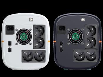 UPS Tuncmatik Digitech Pro 1600VA Line-interactive,black schuko TSK16532