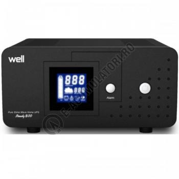 UPS Well pentru CENTRALE TERMICE Steady 800VA, UPS-HEATST-STEADY800-WL0