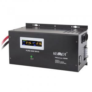 Pachet UPS Kemot Pur Sinus 1600W + Acumulator Ultracell GEL 55 Ah recomandat centrale termice1