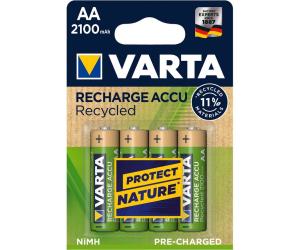 Acumulatori Varta Recycled AA R6 2100 mah preincarcati blister 4 buc 568160