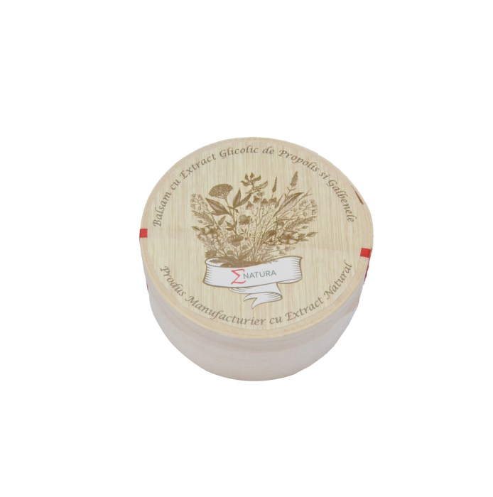 Balsam cu extract glicolic de propolis şi gălbenele, 50 ml, ∑NATURA [1]