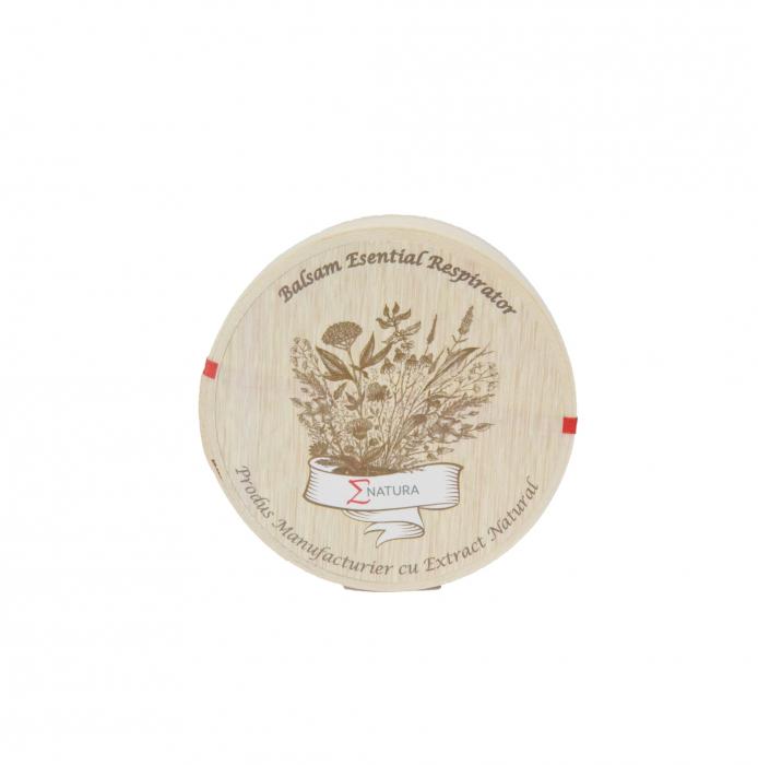 Balsam esential respirator - adulţi LUX, 50 ml, ∑NATURA [0]