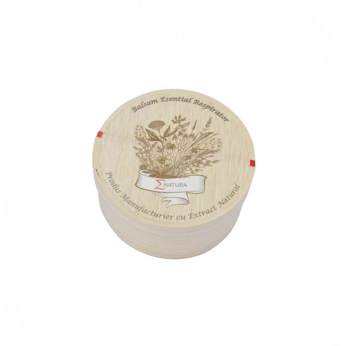 Balsam esential respirator - adulţi LUX, 50 ml, ∑NATURA [1]