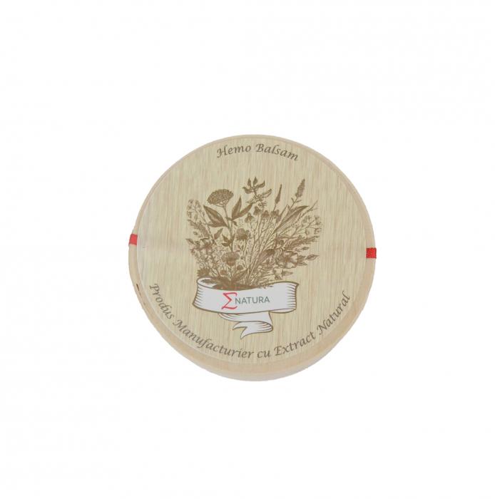 Balsam pentru hemoroizi- Hemo Balsam cu Muguri de plop şi unt de shea LUX, 50 ml, ∑NATURA [0]