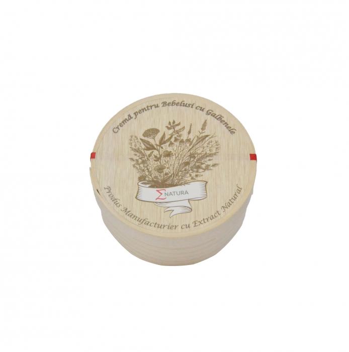 Crema pentru bebelusi ( tip Petrini ) cu extract de galbenele, ∑NATURA, 50ml [1]