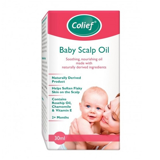 Ulei calmant si hranitor pentru piele si scalp Baby Scalp Oil, 30 ml, Colief [0]