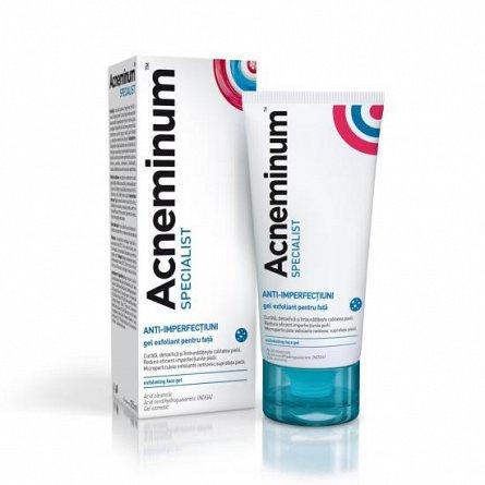 Acneminum Specialist gel exfoliant pentru fata, 125 ml [0]