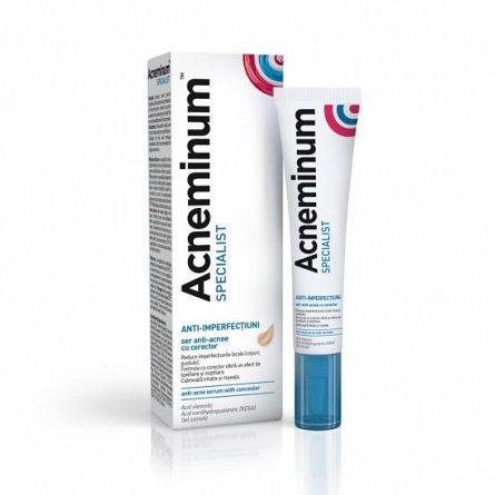 Acneminum Specialist ser anti-acnee cu corector, 10ml [0]